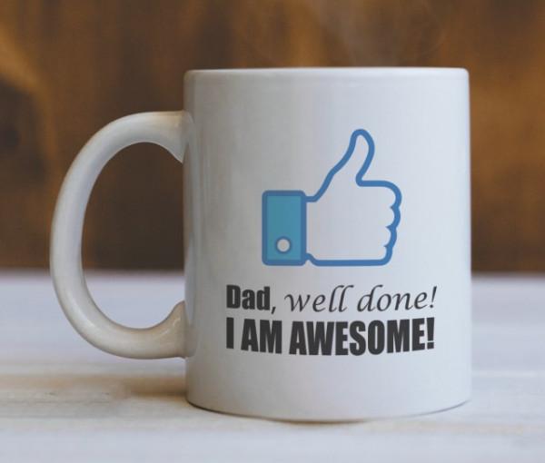 Cana Cu Mesaj - Dad, Well Done!