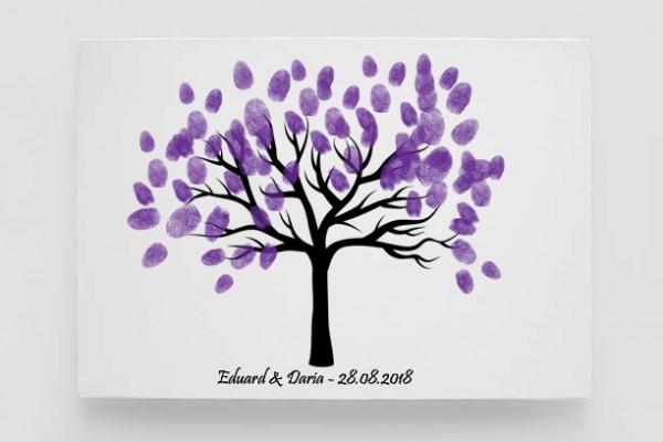 Finger print tree tall