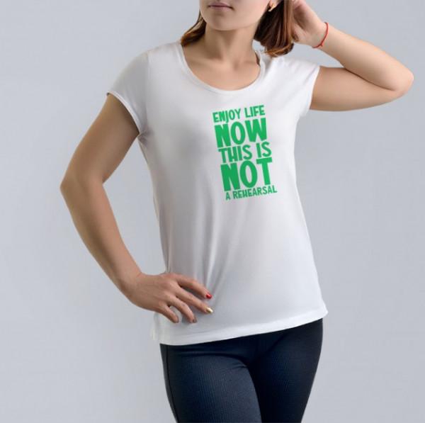 Imprimeu tricou ENJOY LIFE