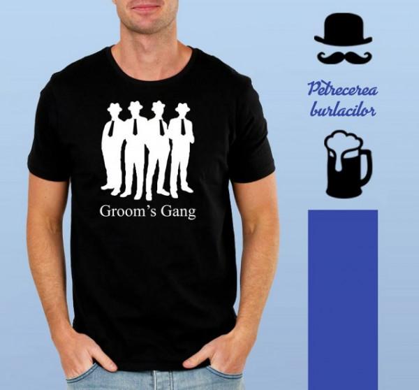 Imprimeu tricou GROOM'S GANG
