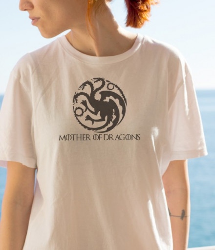 Imprimeu tricou MOTHER OF DRAGONS