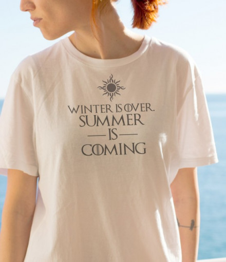 Imprimeu tricou SUMMER IS COMING