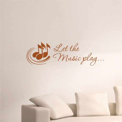 Let the Music play...