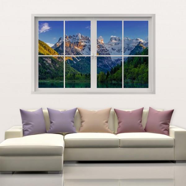 Peisaj prin fereastra 01