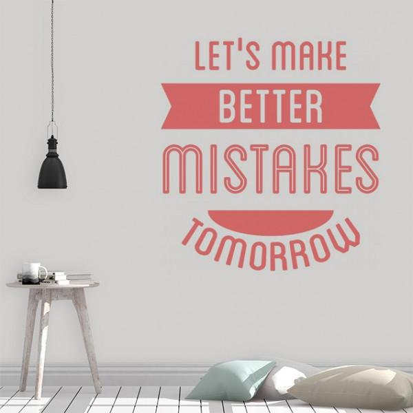 Sticker - Better Mistakes