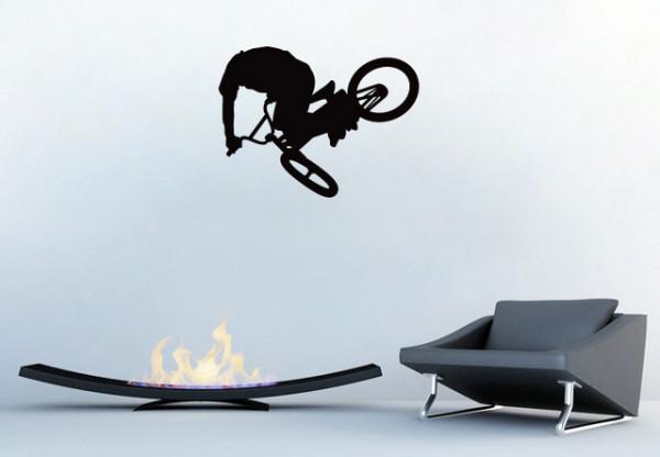 Sticker De Perete Bicicleta