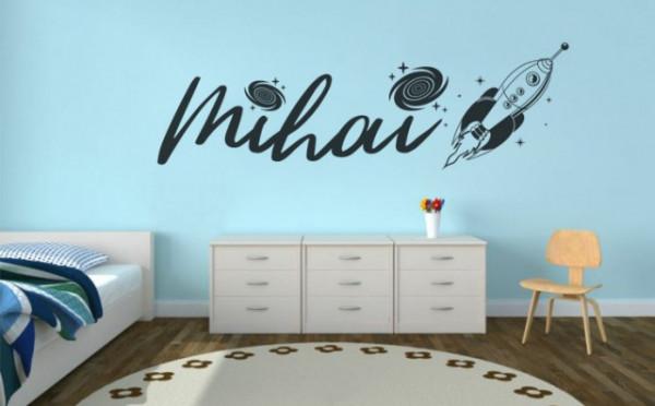 Sticker De Perete Cu Nume - Mihai