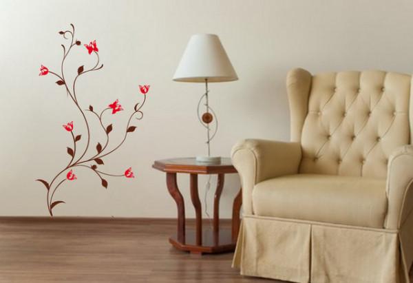 Sticker De Perete Floare Decor