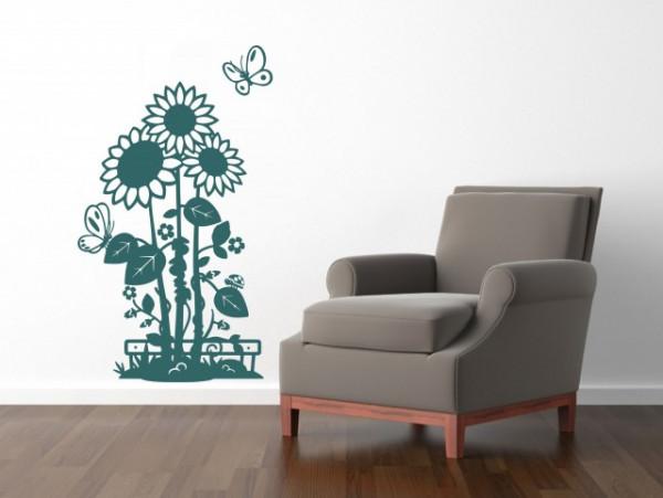 Sticker De Perete Floarea Soarelui