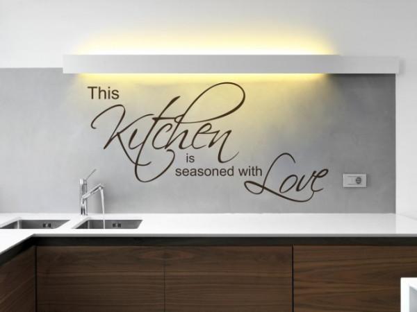 Sticker De Perete Kitchen Love