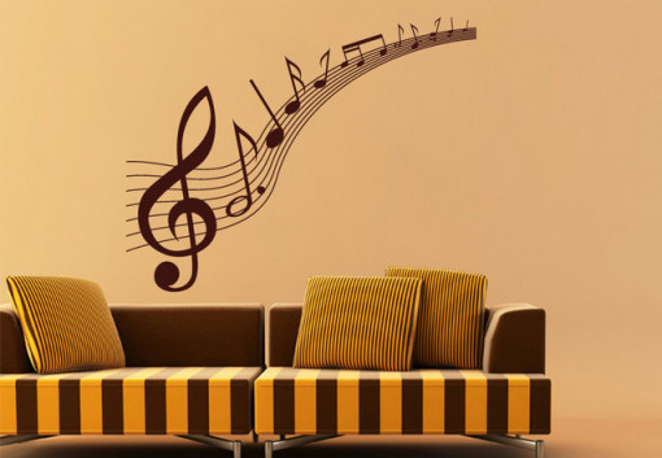 Sticker De Perete Note Muzicale 2