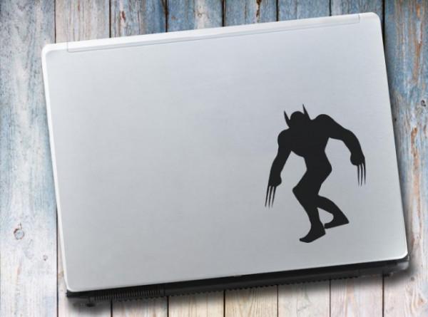 Sticker Pentru Laptop - Wolverine