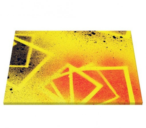 Tablou canvas - abstract yellow