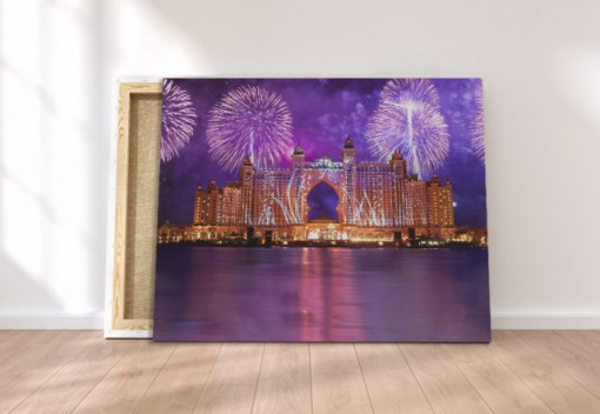 Tablou canvas - Artificii