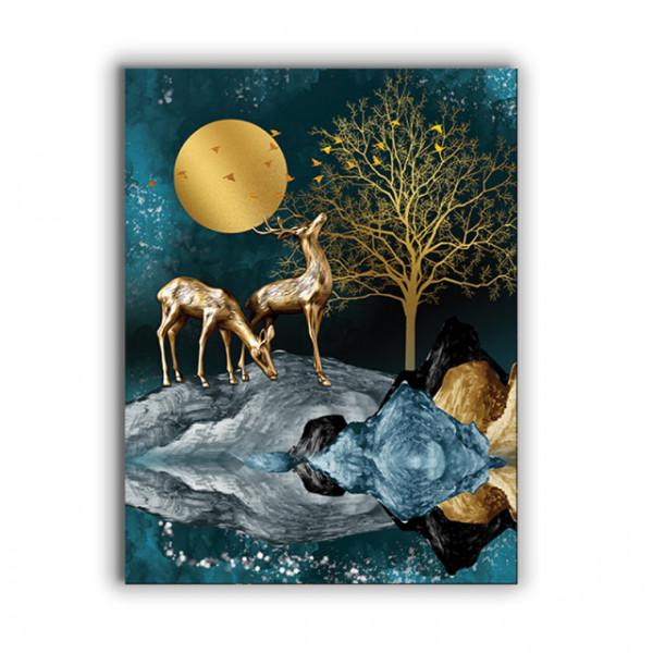 Tablou Canvas Golden Nocturna
