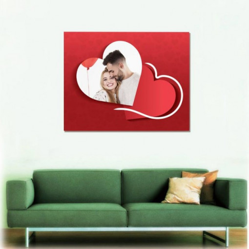 Tablou canvas - lovers - indragostiti