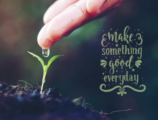Tablou motivational - Make something good