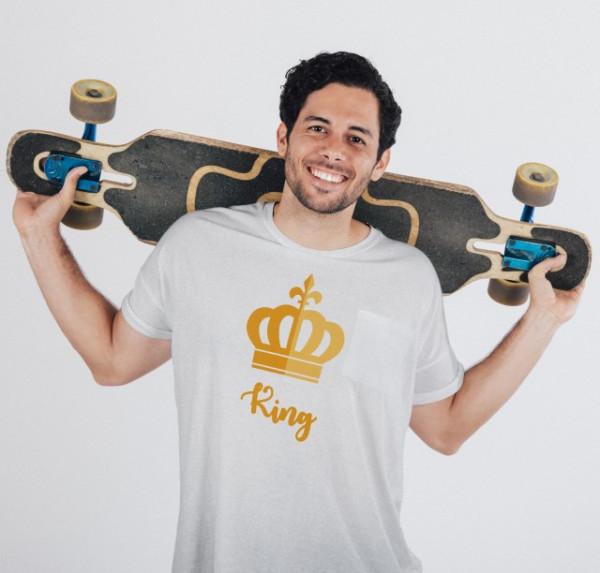 Imprimeu tricou KING