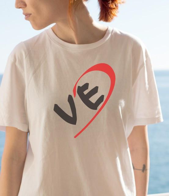 Imprimeu tricou LOVE (EA) - JUMATATE DE INIMA