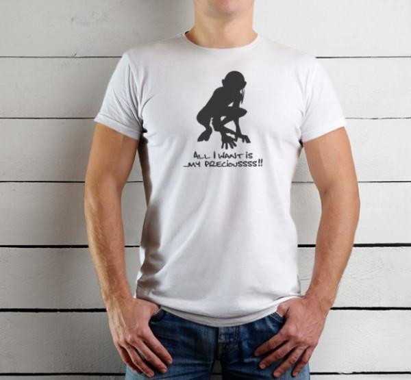 Imprimeu tricou MY PRECIOUSS