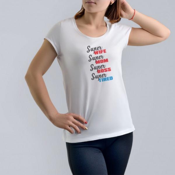 Imprimeu tricou SUPER...EVERYTHING
