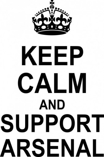 Poze Keep calm and support Arsenal