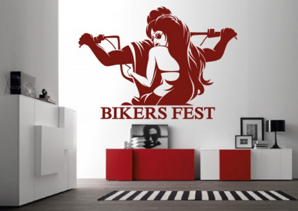 Sticker De Perete Bikers Fest