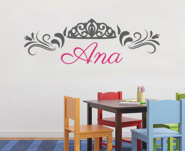 Sticker De Perete Cu Nume - Ana