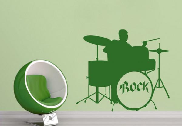 Sticker De Perete Rock