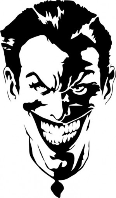 Sticker laptop - Joker