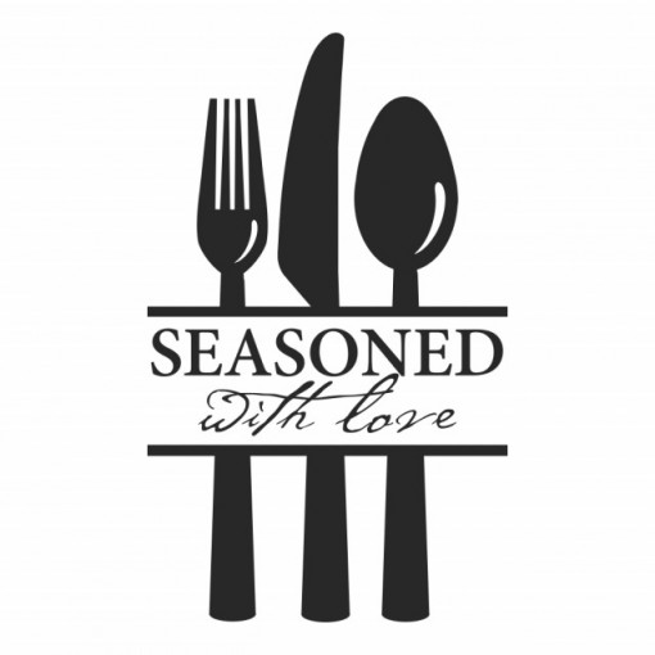 Sticker Seasoned With Love