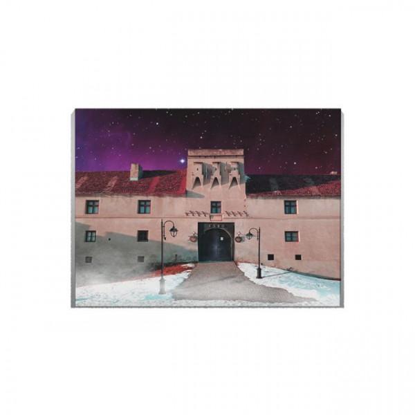 Tablou Canvas Cer instelat deasupra Sibiului