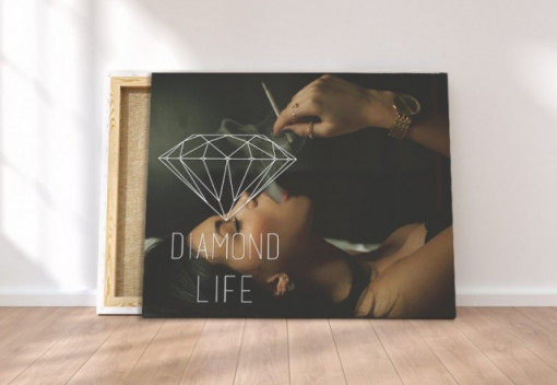 Tablou canvas - Diamond life