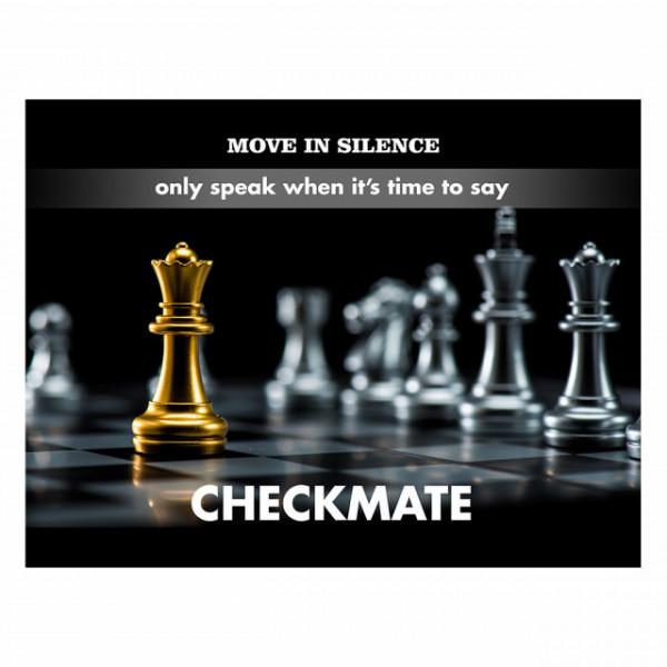 Tablou motivational - Checkmate