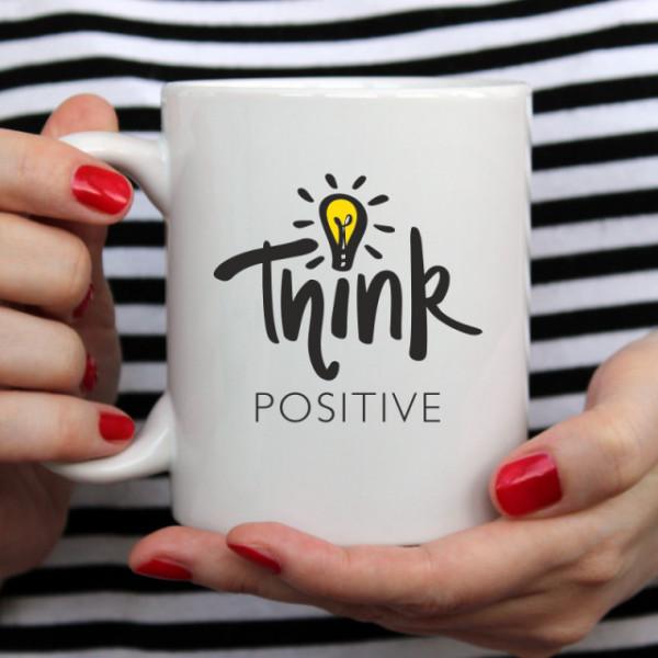 Cana cu Mesaj Think Positive
