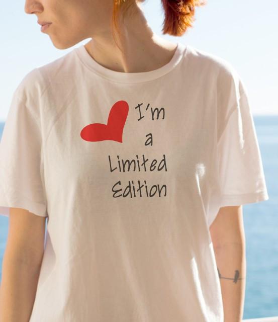 Imprimeu tricou LIMITED EDITION (HEART)