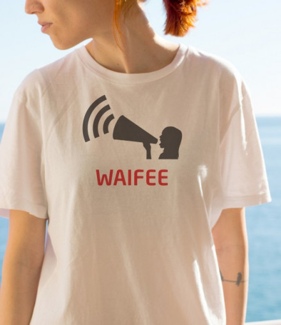 Imprimeu tricou WAIFEE