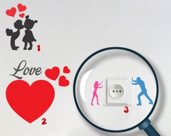 Pachet Stickere pentru Prize - Dragoste