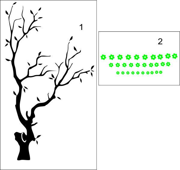 Pomul inflorit