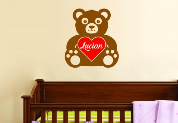 Sticker cu nume - Lucian
