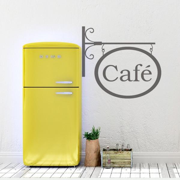 Sticker De Perete Cafe