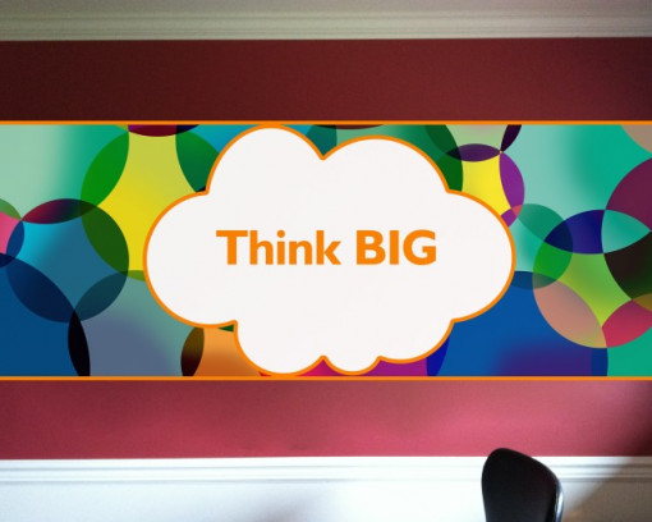 Sticker de Perete Think Big