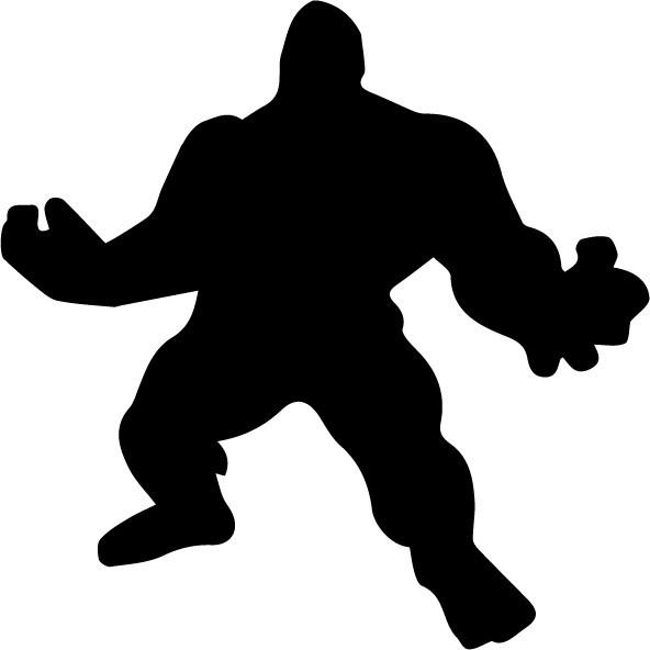 Sticker laptop - Hulk