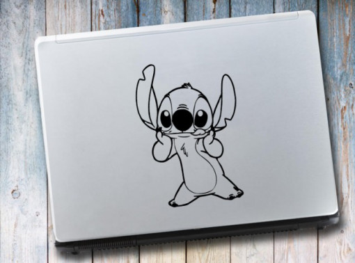Sticker laptop - Stitch