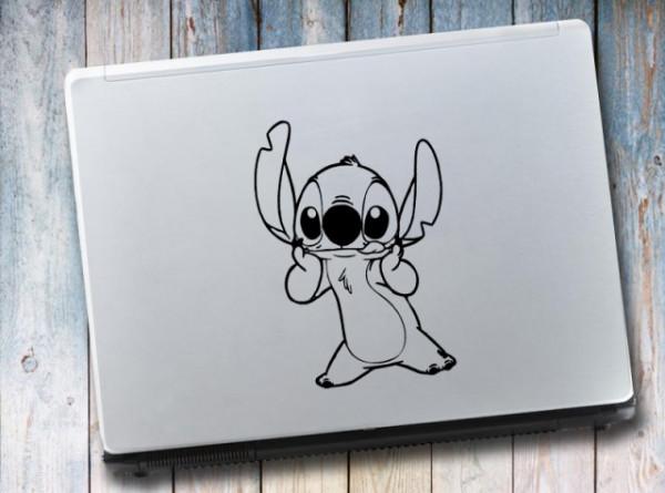Sticker laptop - Stitch