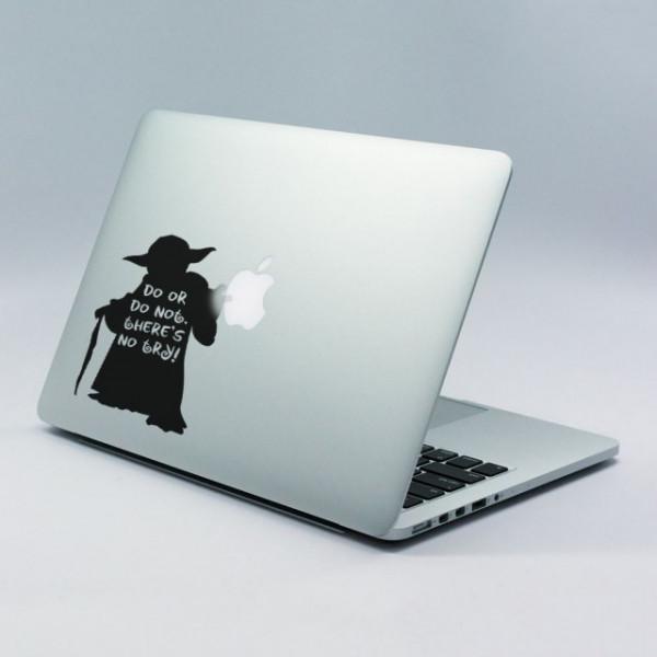 Sticker laptop - Yoda