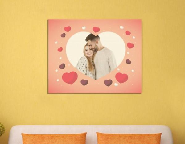 Tablou canvas - lovers - indragostiti model 3