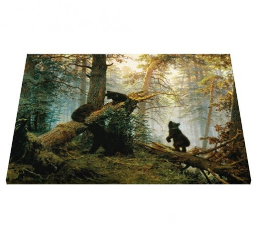 Tablou canvas - ursi in padure