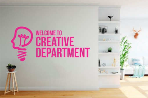 Poze Welcome to creative department