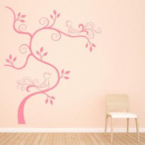 Birds Swirl Tree